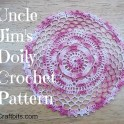 Uncle Jim's Doily Pattern