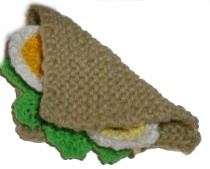 Knitted Salad Sandwich