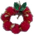 Pom Pom Wreath Ornament