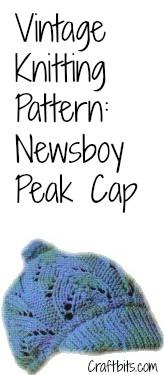 newsboy-peak-cap