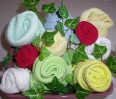 Baby Shower – Baby Clothing Bouquet