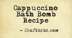 Bath Bomb – Cuppacino