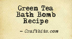 Bath Bomb – Green Tea