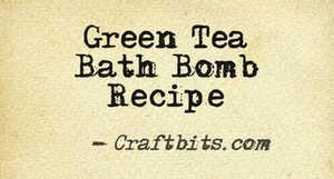 Bath Bomb – Green Tea