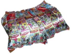 SpiderMan Boxer Shorts Pillow
