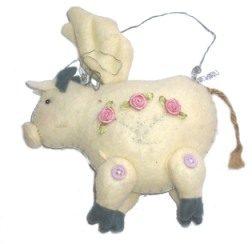 Flying Pig Hangup Plushie