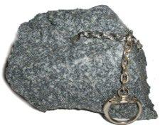 Fake Rock Keychain