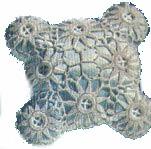 Star Crochet Pillow