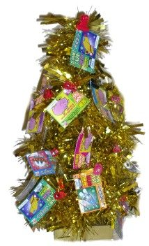 Scratchie Ticket Gift Tree