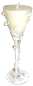 Seaside Glass Candle Votive