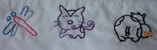 Dingbat Embroidery Pattern