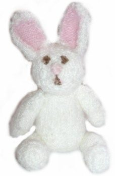 Knitted Easter Bunny