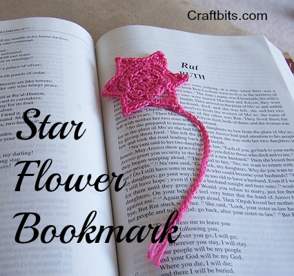 star-flower-crochet-bookmark-free-pattern