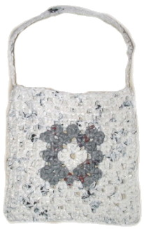 Recycled Plastic Bag Purse