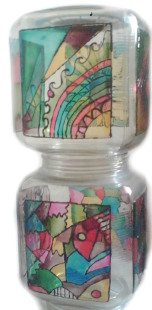 Glass Jar Lampshade