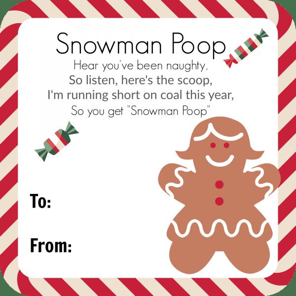 snowman-poop