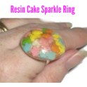 Resin - Cake Sprinkle Ring