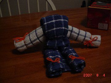 Dishcloth Doll