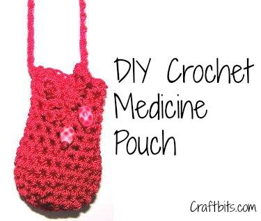 Crochet Medicine Pouch