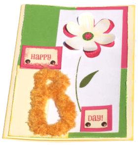 "Happy ""B"" Day Card"