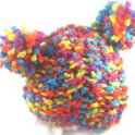 Knitted Kids Funky Bobble Hat