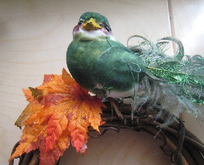 Fall Bird Wreath