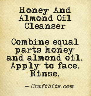 Honey And Almond Oil Cleanser