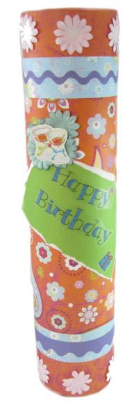 Wine Bottle Gift Box – Birthday Theme