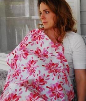 DIY Breastfeeding And Nursing Cover