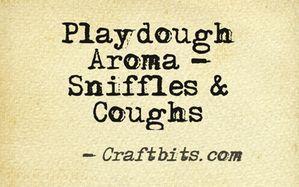 sniffles-cough-playdough