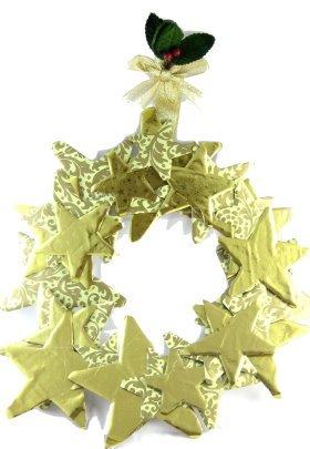 paper-star-wreath