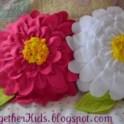 Fleece Flower Petal Pillow