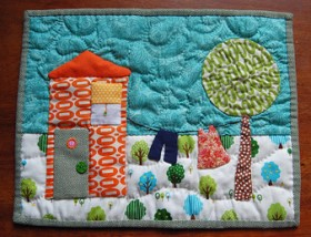 Quilt –  Granny's Delight Mini Quilt