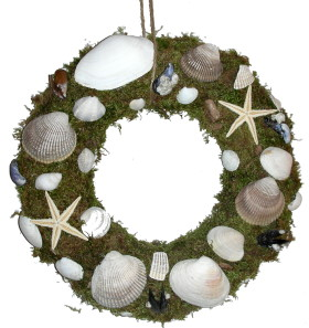 Wreath – Seashells
