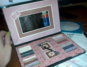 DVD Case Makeup Palette