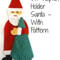 DIY Napkin Holder In Shape Of Santa