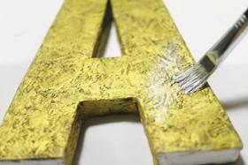 alphabet-silver-paint