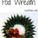 Wreath: Milkweed Pod