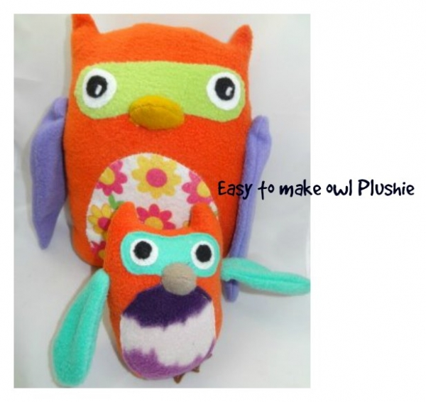 How to make an adorable Owl Soft Toy