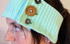 Recycled Sweater – Headband