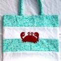Beach Bag - Crab Design