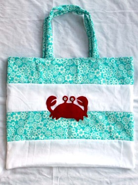 Beach Bag – Crab Design