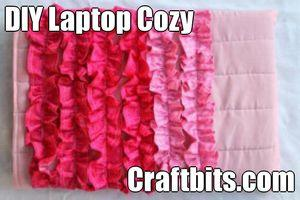 Laptop Cozy – Pretty Ruffles