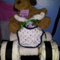 Baby Shower  - Car Diaper Cake