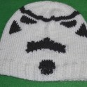 Knitted Stormtrooper Mask