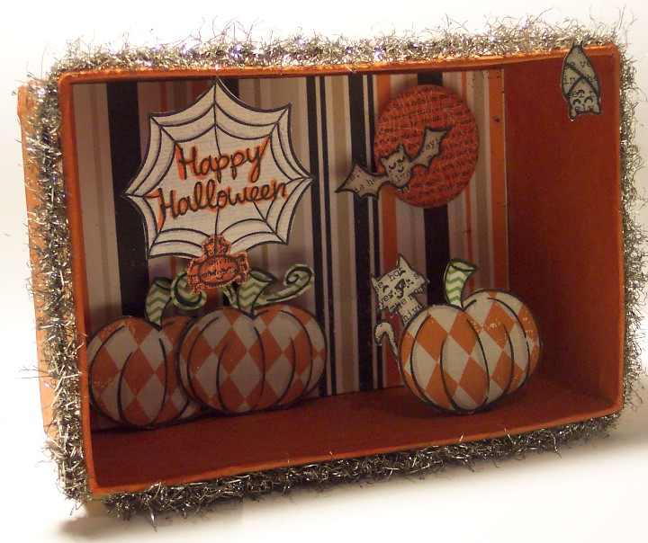 Halloween Shadow Box