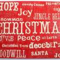 Christmas Crackle Word Art