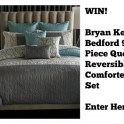 Giveaway: 9 piece comforter set by Bryan Parker
