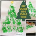 Hand Print - Christmas Tree Artwork