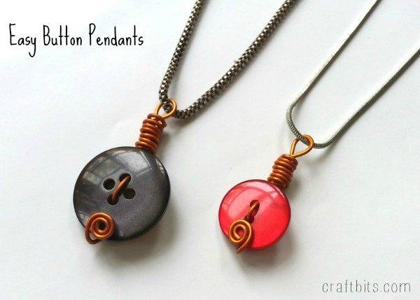 button-pendants
